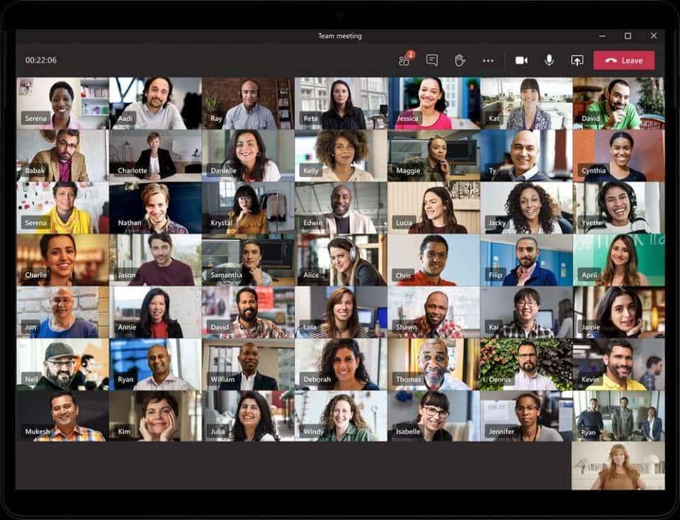 Teams 49 użytkowników -  Nowości w Microsoft Teams