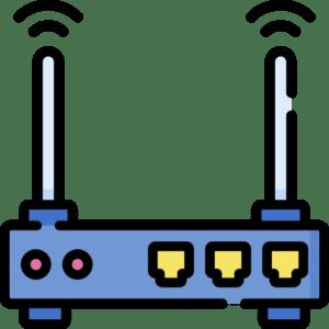 router z funkcją zapory sieciowej w szkolnej serwerowni